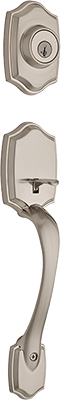 Weiser Brentwood entry door handle