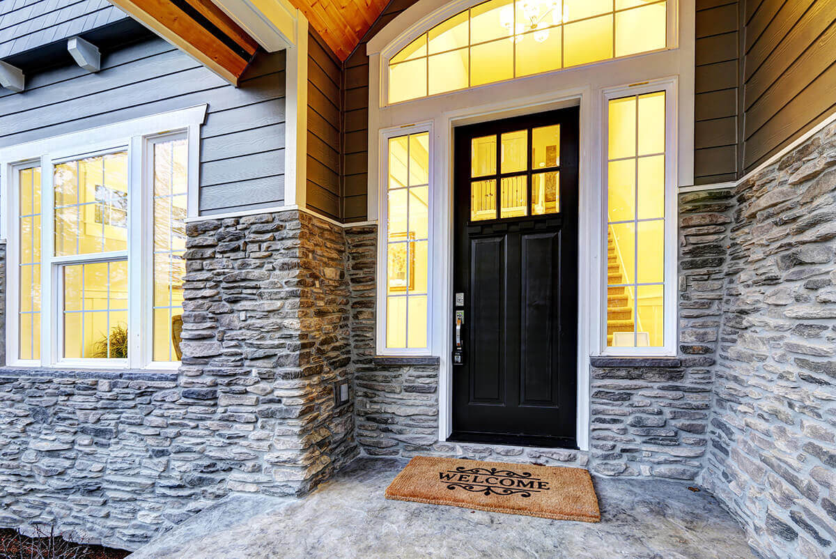 A beautiful new front door can drastically improve the curb appeal of your home.