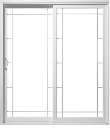 An image of a patio door made by Northern Comfort Windows and Doors.