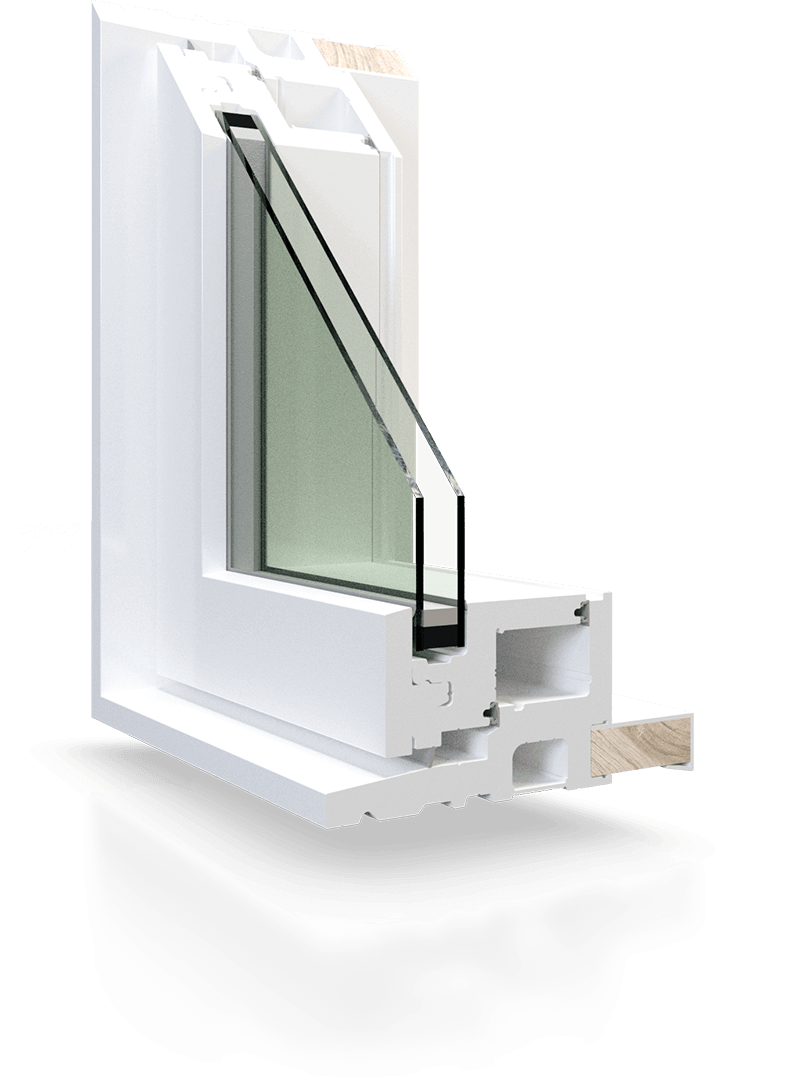 RevoCell™ microcellular PVC windows