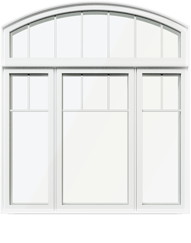 An image of a PVC window made by Northern Comfort Windows and Doors.