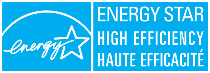 Energy Star® Rated High Efficiency