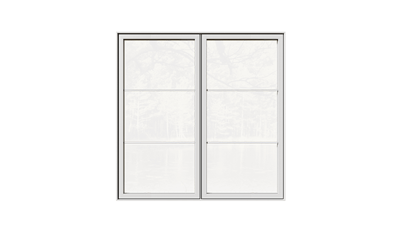 A RevoCell® Casmement window.