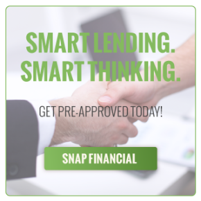 Smart Lending. Smart Thinking. | Get Pre-Approved Today! | SNAP FINANCIAL