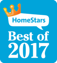 Northern Comfort Windows and Doors is HomeStars Best of 2017 for Central Ontario