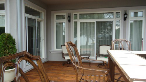 multiple patio doors