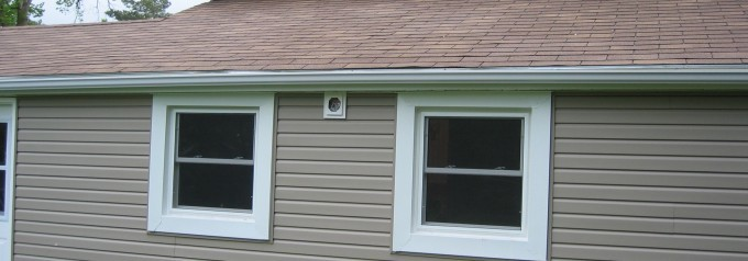 two small single hung tilt windows