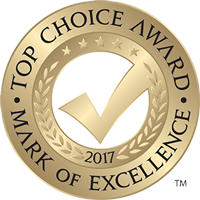 Northern Comfort Windows and Doors has won the Top Choice Award Mark of Excellence 2017
